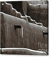 Frosting On The Clay Acrylic Print