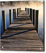 Frosty Docks 3 Acrylic Print