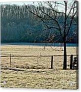 Frosty Morning Winter Landscape Acrylic Print