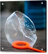 Frozen Bubble Acrylic Print