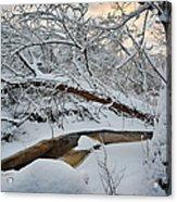 Frozen Creek Acrylic Print