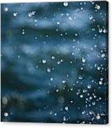 Frozen Droplets Acrylic Print