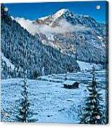Frozen Field Acrylic Print