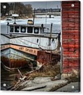Frozen In Time Acrylic Print