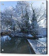 Frozen Iseland Acrylic Print