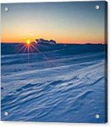 Frozen Lake Minnewaska Acrylic Print