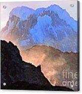 Frozen - Torres Del Paine National Park Acrylic Print