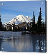 Frozen Reflection Acrylic Print