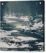 Frozen Acrylic Print