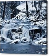 Frozen Waterfall Acrylic Print