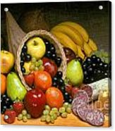 Fruit Cornucopia  Acrylic Print