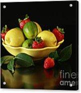 Fruit Explosion Acrylic Print