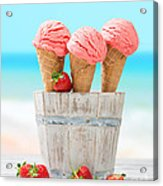 Fruit Ice Cream Acrylic Print
