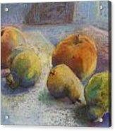 Fruit In Moonlight Acrylic Print