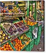 Fruit Market Acrylic Print