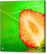 Fruit Of Rainy Summer Acrylic Print