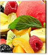 Fruit Salad Acrylic Print