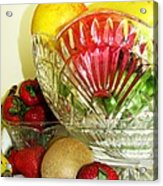 Fruit Still Life 3 Acrylic Print