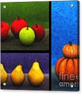 Fruit Trilogy Acrylic Print