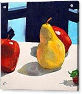First Pear Acrylic Print