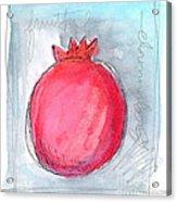 Fruitful Beginning Acrylic Print by Linda Woods