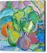Fruits And Veggies  Acrylic Print by Brenda Ruark