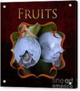 Fruits Gallery Acrylic Print
