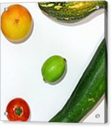 Fruits Project Acrylic Print