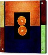 Fruity Triptych Acrylic Print
