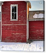 Ft Collins Barn 13496 Acrylic Print by Jerry Sodorff