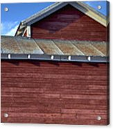 Ft Collins Barn 13550 Acrylic Print by Jerry Sodorff
