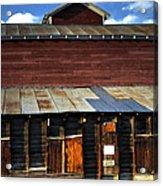 Ft Collins Barn 13553 Acrylic Print