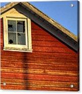 Ft Collins Barn Sunset 2 13508 Acrylic Print