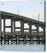 Ft. Pierce Causeway Acrylic Print