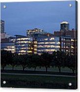 Ft. Worth Texas Skyline Acrylic Print