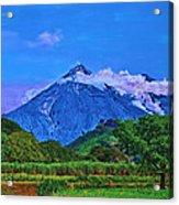 Fuego Volcano Guatamala Acrylic Print