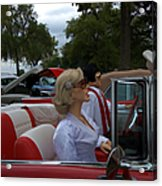 Fuel Injection Cadillac Acrylic Print