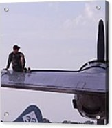 Fueling The Superfortress Acrylic Print