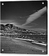 Fuengirola Beach Acrylic Print