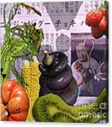 Fukushima Veggies Acrylic Print by Megan Dirsa-DuBois