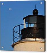 Full Moon At Piney Point Acrylic Print