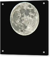Full Moon II Acrylic Print