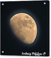 Full Moon Acrylic Print by Joshua Phillips