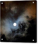 Full Moon Night Acrylic Print