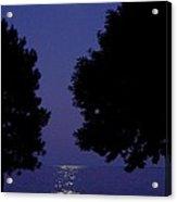 Full Moon Rise Acrylic Print