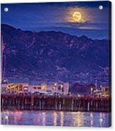 Full Moon Rising #2 Acrylic Print