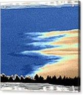 Full Moon Rising Acrylic Print