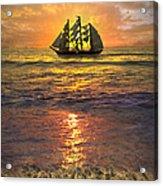 Full Sail Acrylic Print