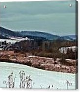 Fulmer Valley In Winter Acrylic Print