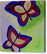 Fun Butterflies Acrylic Print